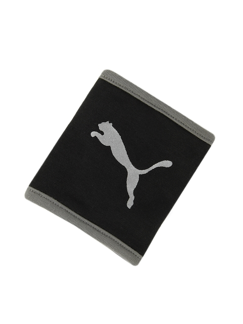 Puma Unisex Black Gym Wristband