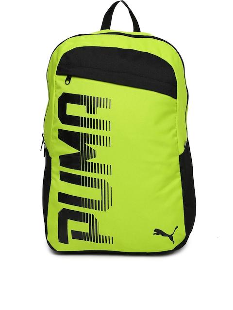 Puma Unisex Fluorescent Green Pioneer Backpack