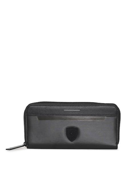 Puma Women Black Ferrari LS Wallet