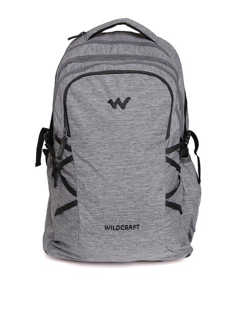 Wildcraft Unisex Grey Melange Voyager Trolley Backpack