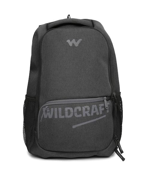 Wildcraft Unisex Black Maverick Printed Laptop Backpack