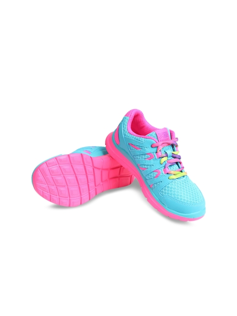 Karrimor Girls Turquoise Blue & Pink Sports Shoes