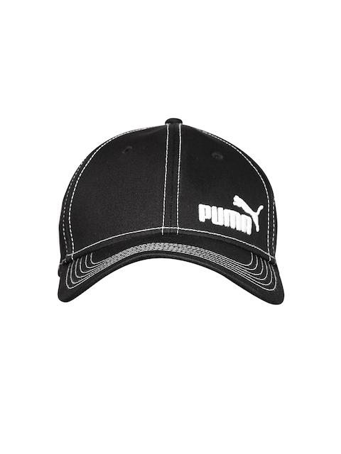 Puma Unisex Black Baseball Stretchfit Cap