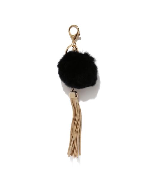 Ayesha Women Black & Beige Keychain