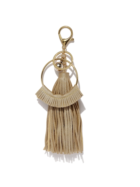 Ayesha Women Gold-Toned Keychain