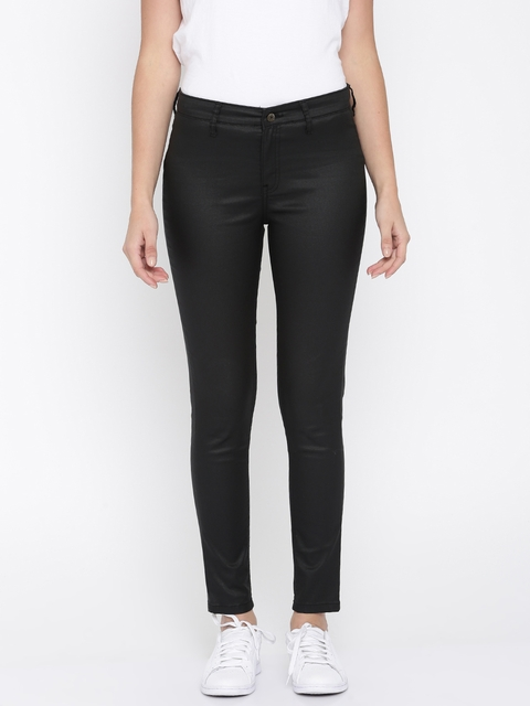 French Connection Black Skinny Fit Jeggings