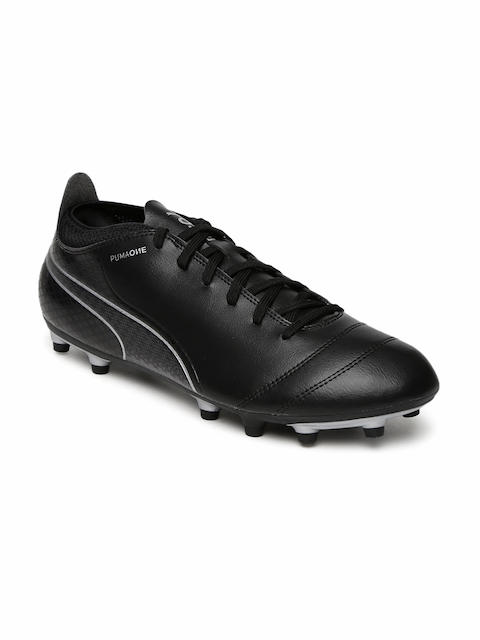 Puma Men Black ONE 17.4 FG Football Shoes