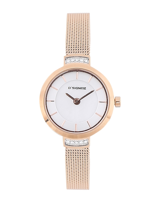 Dsigner Women Silver-Toned Analogue Watch