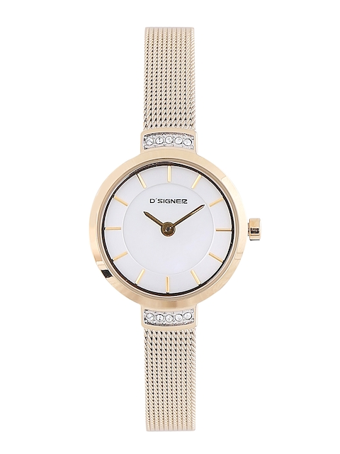 Dsigner Women Silver-Toned Analogue Watch 708GM.6.L