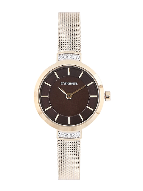Dsigner Women Brown Analogue Watch 708GM.9.L
