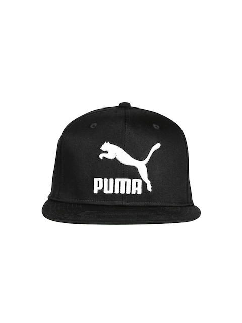 PUMA Unisex Black LS ColourBlock SnapBack Cap