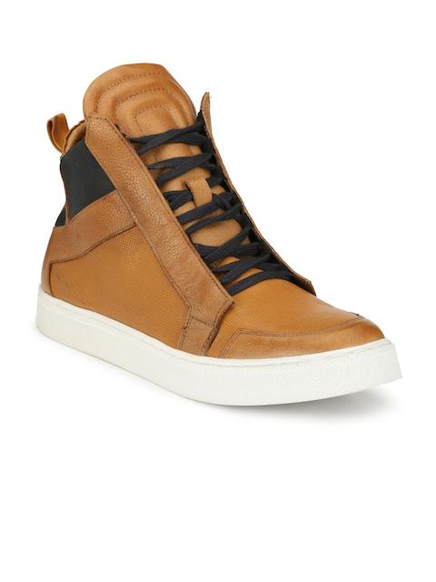 Alberto Torresi Men Tan Flat Boots