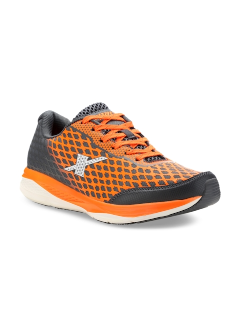 Sparx Men Grey & Orange Running Shoes SX9018G