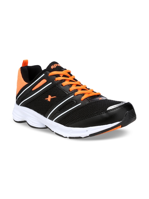 Sparx Men Black & Orange Running Shoes SX9027G