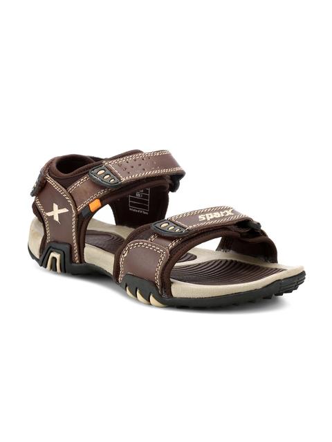 Sparx Men Brown Comfort Sandals