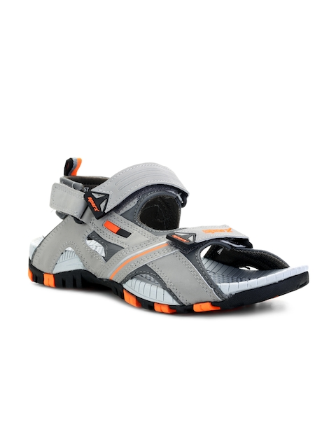 Sparx Men Grey Comfort Sandals