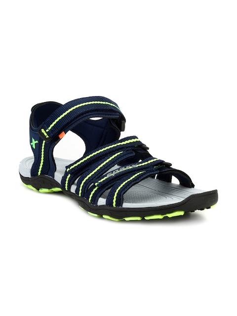 Sparx Men Navy Blue Comfort Sandals