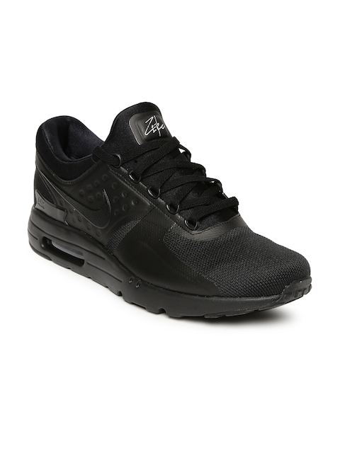Nike Men Black Air Max Zero Essential Sneakers