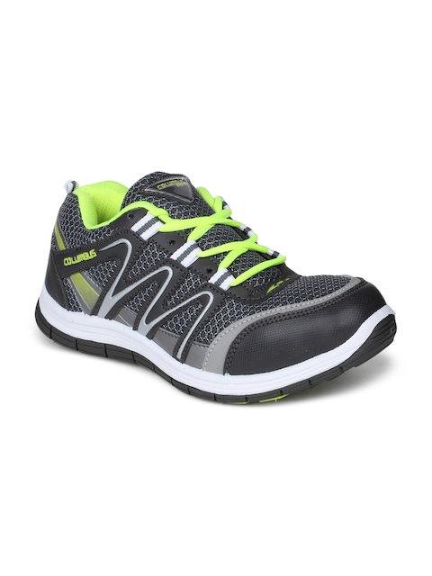 Columbus Men Grey Training or Gym Shoes