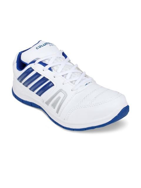 Columbus Men White Training or Gym Shoes