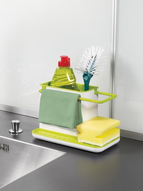 Joseph Joseph White and green Sink Caddy