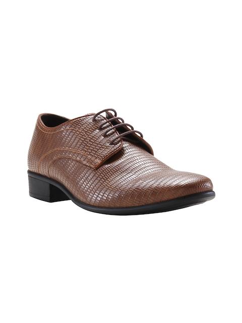 Franco Leone Men Brown Formal Derby Shoes