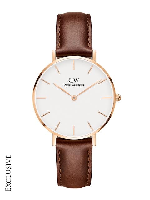 Daniel Wellington Classic Petite St Mawes Women White Analogue Watch DW00100175