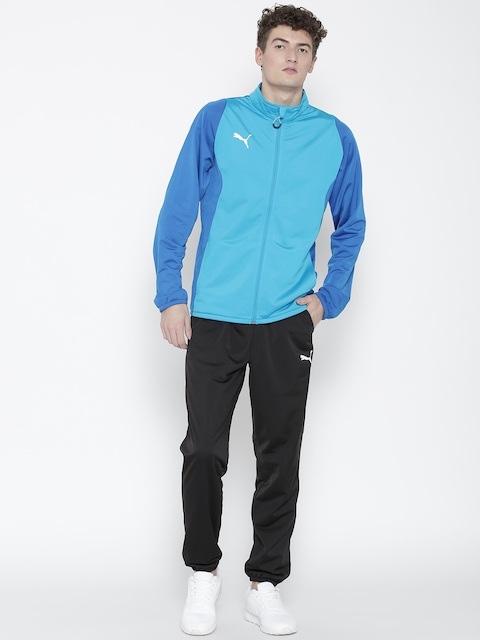 Puma Men Blue & Black ftblTRG Tracksuit