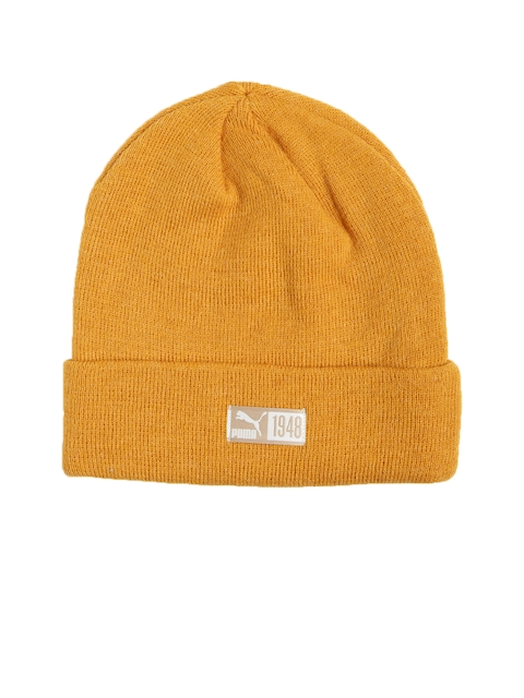 Puma Unisex Orange ARCHIVE Beanie