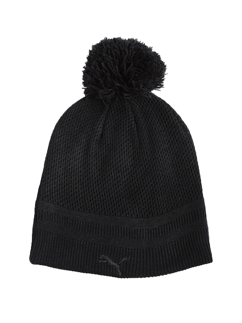 a273970c86c 55%off Puma Women Black Woven Design FERRARI Beanie