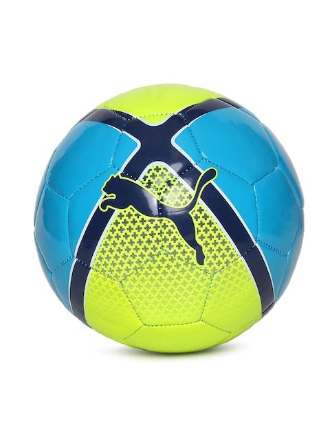 Puma Unisex Yellow & Blue Printed evo SALA AW17 Football