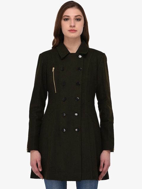 Owncraft Olive Longline Peacoat