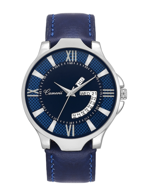 Camerii Men Blue Analogue Watch WM262