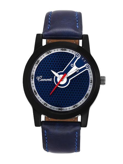 Camerii Men Blue Analogue Watch WM267