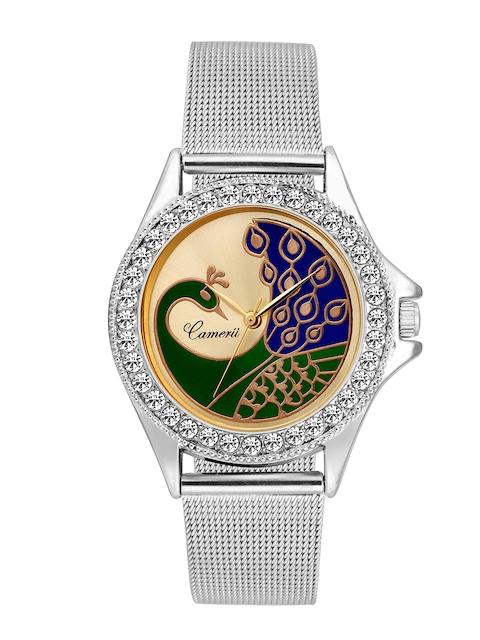 Camerii Women Gold-Toned Analogue Watch