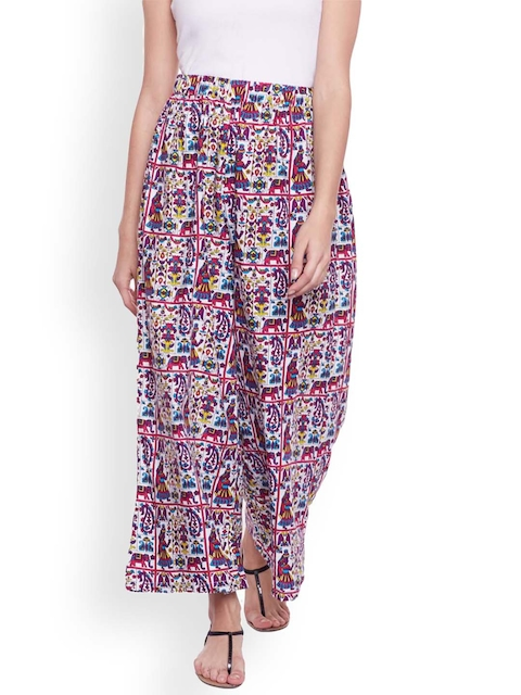 Castle Women Multicoloured Straight Printed Palazzos