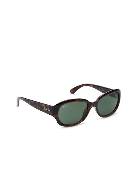 Ray-Ban Women Rectangle Sunglasses 0RB419871055