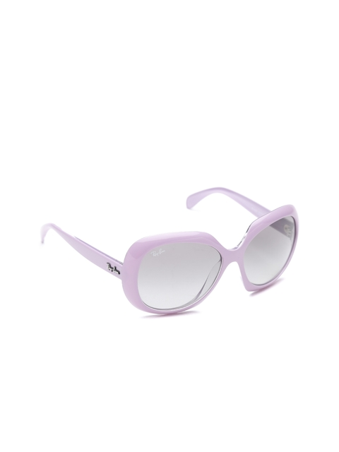 Ray-Ban Women Oversized Sunglasses 0RB420861021155
