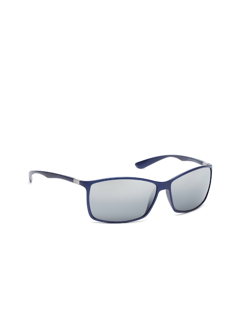 Ray-Ban Men Mirrored Rectangle Sunglasses 0RB417960158862