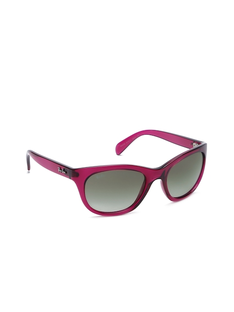 Ray-Ban Women Oval Sunglasses 0RB421661731156