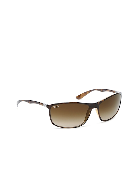 Ray-Ban Men Rectangle Sunglasses 0RB42317101365-710