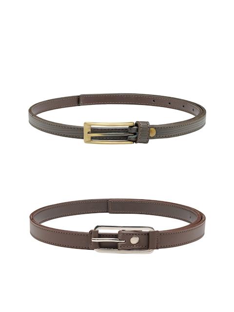 Scarleti Women Brown Solid Belt
