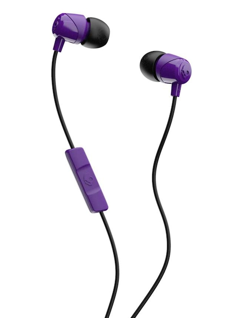 Skullcandy JIB Purple In Ear Headphones with Mic