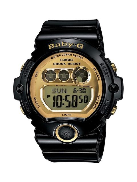 CASIO Women Gold-Toned Digital Watch BG-6901-1DR
