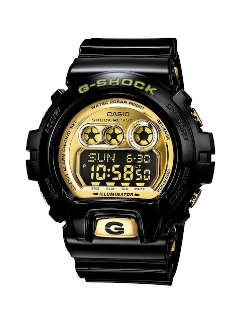 CASIO Men Gold-Toned Digital Watch GD-X6900FB-1DR