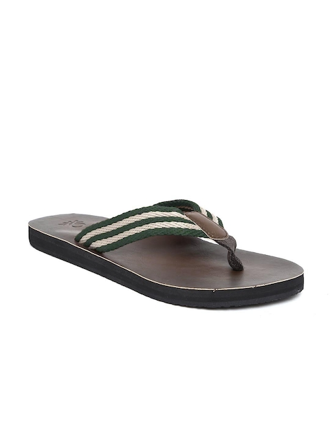United Colors of Benetton Men Green Sandals