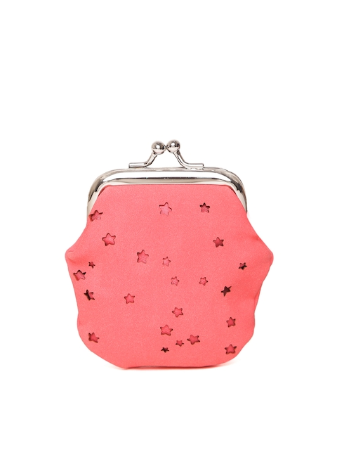 Cath Kidston Girls Coral Pink Cut-Out Purse