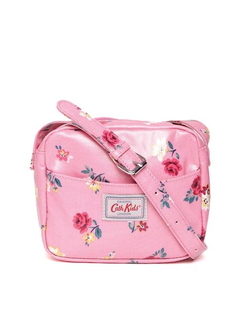 Cath Kidston Girls Pink Floral Print Sling Bag