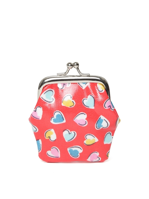 Cath Kidston Girls Red & Blue Printed Clutch