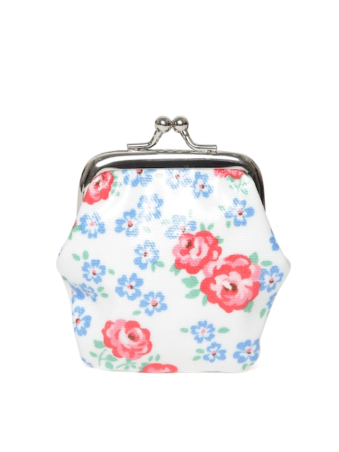 Cath Kidston Girls Off-White & Red Floral Print Clutch